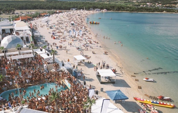 Zrće - party beach