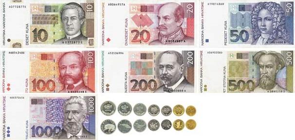 Croatian money - Kuna