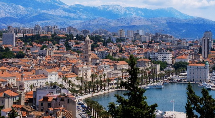 Split - metropolis of Dalmatia